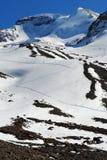 катание на лыжах rockie зоны канадское Стоковая Фотография