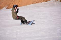 Катание на лыжах Пекина фольклорное Стоковые Фото