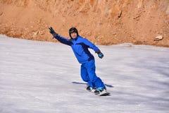 Катание на лыжах Пекина фольклорное Стоковые Изображения