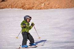 Катание на лыжах Пекина фольклорное Стоковое Изображение RF