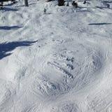 катание на лыжах Стоковые Фото