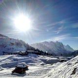 катание на лыжах стоковые изображения rf