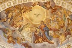 """КАТАНИЯ, ИТАЛИЯ, 2018: Слава Санта Agata в al Borgo Chiesa di Sant """"Agata церков кокосами Giovanni Lo от 18 r стоковое изображение rf"""