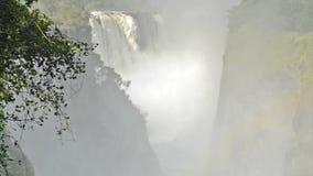 Катаракта дьяволов Victoria Falls видеоматериал