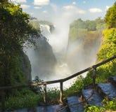Катаракта дьяволов Victoria Falls стоковые фото