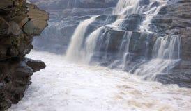 Катаракта Hukou стоковое изображение