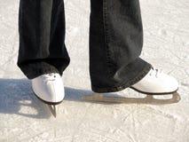 кататься на коньках льда Стоковое фото RF