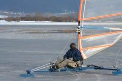 кататься на коньках льда 2 передвижной Стоковое Изображение RF
