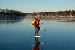 кататься на коньках приключения Стоковые Изображения RF