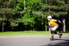 кататься на коньках ролика стоковые фото