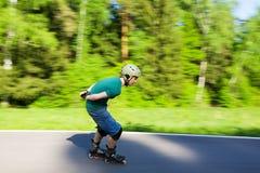 кататься на коньках ролика Стоковое Фото