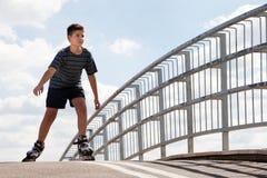 Кататься на коньках ролика Стоковое Изображение RF