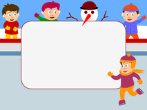 кататься на коньках фото льда рамки Стоковая Фотография RF