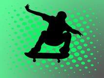 кататься на коньках человека Бесплатная Иллюстрация