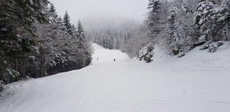 Кататься на лыжах на Abetone стоковое изображение rf