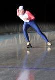 катаясь на коньках скорость Стоковые Изображения