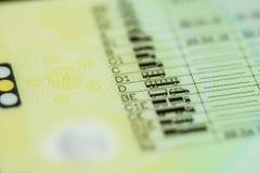 Категории водительского права Стоковая Фотография RF