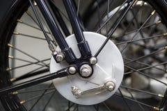 Катите с амортизатором удара конца-вверх мотоцикла Стоковое Изображение RF