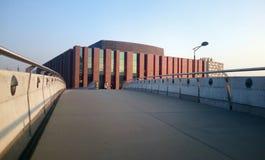Катовице, Польша - 30-ое октября 2015: Оркестр польского радио соотечественника симфоничный Стоковое Фото