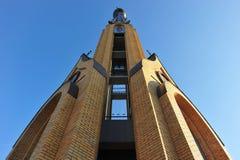 Католическая церковь Bialystok Польша BIALYSTOK ПОЛЬШИ октября 2014 Стоковое Изображение RF