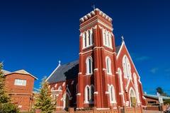 """Католическая церковь St Laurence o """"Toole, Cobar, Новый Уэльс, Австралия стоковое изображение rf"""