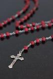 Католический христианский розарий Стоковое Фото