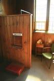 католический confessional Стоковое Фото