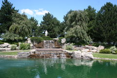 католическое кладбище Стоковая Фотография RF