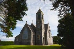 Католическая готическая церковь Стоковое Фото