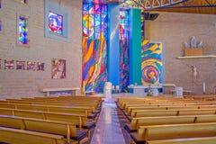 Католическая церковь в Мельбурне Стоковая Фотография RF