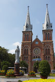 Католическая церковь в Сайгоне стоковое изображение