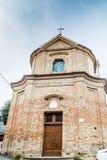Католическая церковь Сан Silvestro в Bertinoro в Италии Стоковые Фото