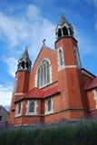 Католическая церковь Св.а Франциск Св. Франциск aubergines Стоковая Фотография