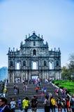 Католическая церковь собора остается самыми большими в Азии formerly стоковые фото