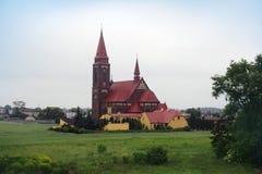 Католическая церковь Стоковая Фотография RF