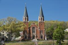 Католическая церковь St Bernard, Роквилл, Коннектикут Стоковые Фотографии RF