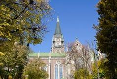 Католическая церковь St Elisabeth, церков St Olha и Элизабета Стоковое Изображение RF