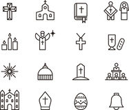 Католические значки Стоковое фото RF