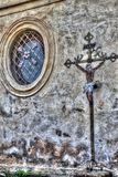 Католический орнамент церков в Frydlant Стоковое Изображение
