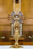 Католический религиозный крест Стоковые Изображения