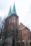 Католический собор в Берлине Стоковая Фотография RF