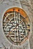 Католическое окно церков в Frydlant Стоковые Фото