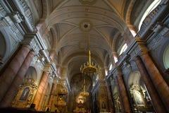 Католическое Chirch, внутреннее изображение 3 Стоковые Изображения RF
