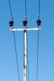 Катушка высоковольтных кабелей Стоковые Изображения RF
