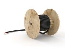 Катушка кабеля Стоковые Фото