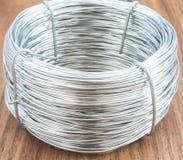 Катушка провода металла Стоковое Изображение