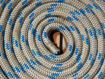 Катушка фото текстуры веревочки Стоковое Фото