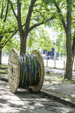 Катушка электрического кабеля Стоковая Фотография RF