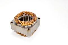 Катушка электрического вентилятора, изолированная на белой предпосылке Стоковые Изображения RF