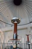 Катушка Tesla Стоковое Изображение
